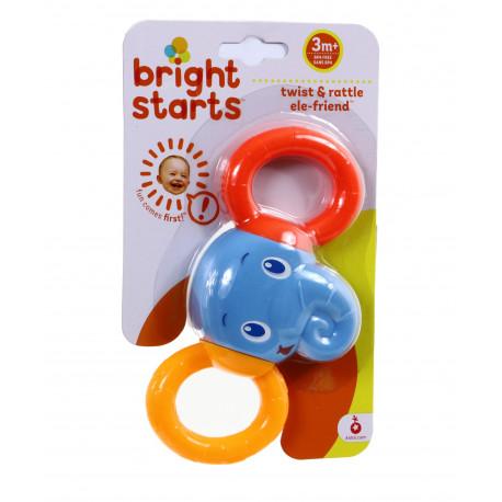 Bright Starts Grzechotka SŁONIK 10226