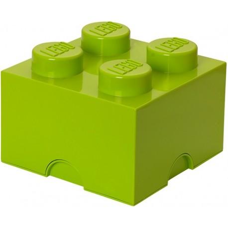 LEGO Pojemnik 4 na Zabawki Limonka 0309