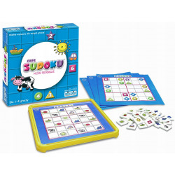 TM Toys Gra SUDOKU: JUNIOR 1461
