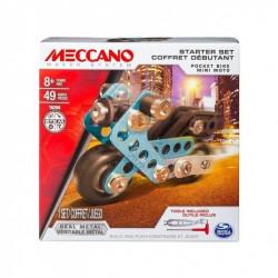 SPIN MASTER MECCANO Zestaw dla początkujących MOTOCYKL 16204