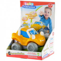 CLEMENTONI BABY Press And Go TERENÓWKA 60095