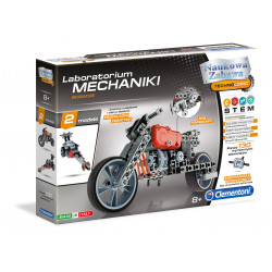 Clementoni Naukowa Zabawa Laboratorium Mechaniki ŚCIGACZE 60955