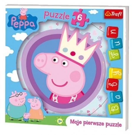 Trefl - 36116 - Moje Pierwsze Puzzle - Puzzle Baby - Peppa