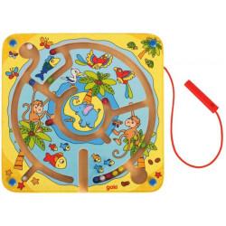 GOKI Gra Zręcznościowa Magnetyczny Labirynt WYSPA 53818
