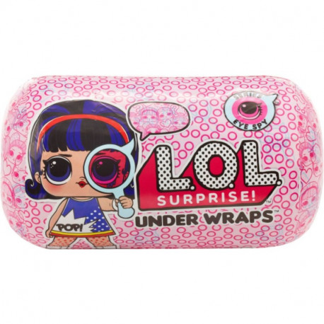 L.O.L SURPRISE Eye Spy UNDER WRAPS LALECZKA W KAPSULE 552086