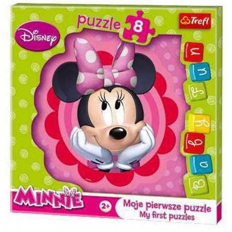 Trefl - 36117 - Moje Pierwsze Puzzle - Puzzle Baby - Myszka Minnie
