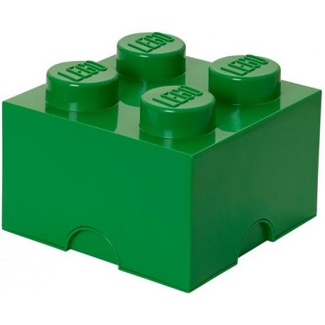 LEGO Pojemnik 4 na Zabawki Zielony 0348