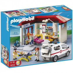 PLAYMOBIL 5012 City Life POGOTOWIE RATUNKOWE