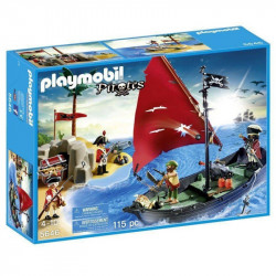 PLAYMOBIL PIRATES 5646 PIRACI Z ŁÓDKĄ