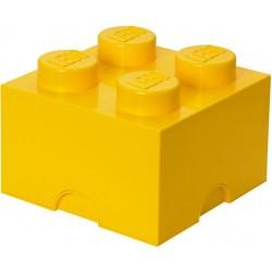 LEGO Pojemnik 4 na Zabawki Żółty 0324