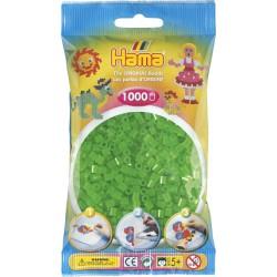 Hama - Midi - 20737 - Koraliki Zielone Neonowe - Zestaw Uzupełniający 1000 szt