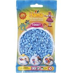 Hama - Midi - 20746 - Koraliki Niebieskie Pastelowe - Zestaw Uzupełniający 1000 szt