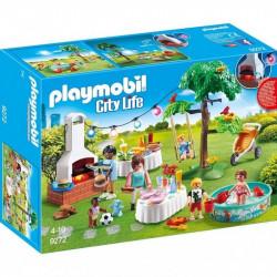 PLAYMOBIL 9272 City Life PRZYJĘCIE W OGRODZIE