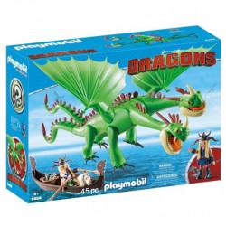 PLAYMOBIL 9458 Dragons Jak Wytresować Smoka SZPADKA I MIECZYK z JOT&WYM