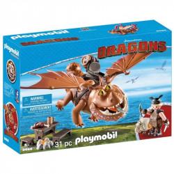 PLAYMOBIL 9460 Dragons Jak Wytresować Smoka ŚLEDZIK I SZTUKAMIĘS