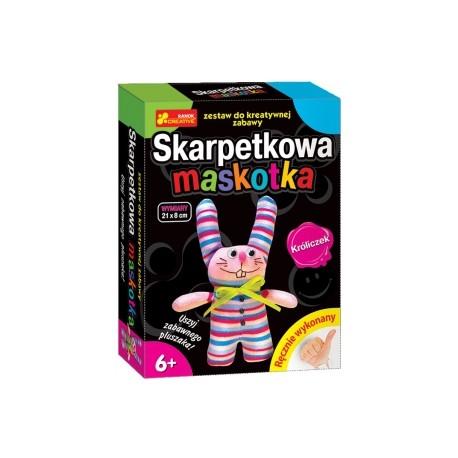 Ranok Creative - 1367- Skarpetkowa Maskotka - Króliczek