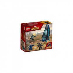 LEGO SUPER HEROES 76101 Atak Statku Outriderów