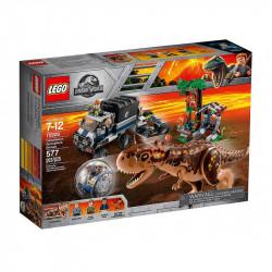 LEGO JURASSIC WORLD 75929 Ucieczka przed Karnotau