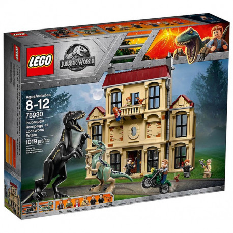 LEGO JURASSIC WORLD 75930 Atak Indoraptora