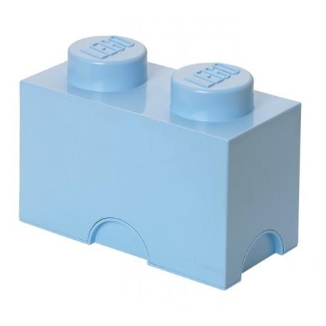 LEGO Pojemnik 2 na Zabawki Błękitny