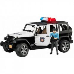 BRUDER Samochód Policyjny Jeep Rubicon 02526