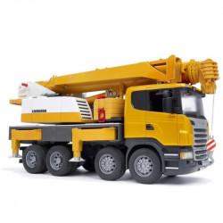 BRUDER Ciężarówka Dźwig Scania 03570