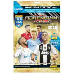 PANINI FIFA 365 Mega Zestaw Startowy 2019 ALBUM KOLEKCJONERSKI 09417