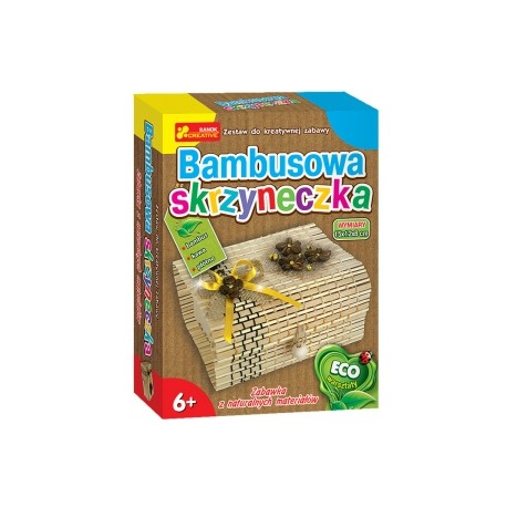 Ranok Creative - 1381- Bambusowa skrzyneczka