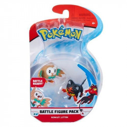 POKEMON Zestaw Figurek ROWLET I LITTEN 96198