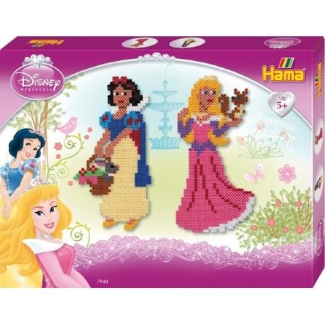 Hama - Midi - 7940 - Koraliki Kolorowe - Zestaw Disney Księżniczki 4000 szt.