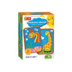 Ranok Creative - 3606 - Piaskowe Obrazki - Rybka i Żyrafa
