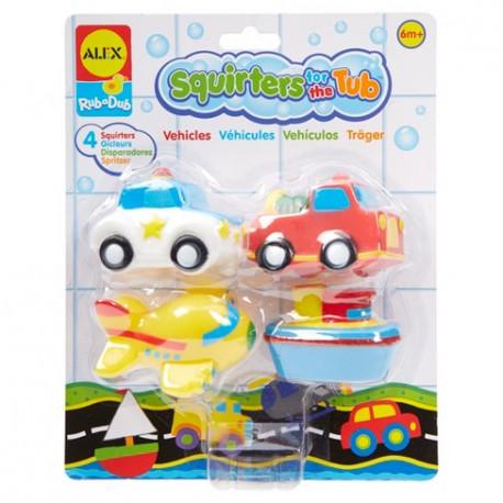 Alex Toys Zabawki do Kąpieli Pojazdy 0043