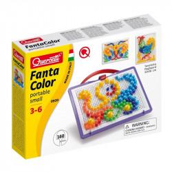 Quercetti Mozaika Fanta Color UKŁADANKA Z PINEZKAMI OŚMIORNICA 160Elementów 0920