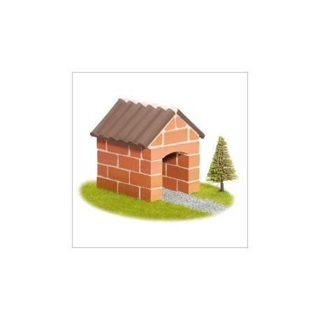 Teifoc - 1022 - Budowle z Cegiełek - Mały Domek