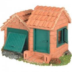 Teifoc - 4210 - Budowle z Cegiełek - Domek z Garażem