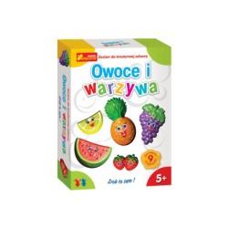 Ranok Creative - 3170- Gipsowe Magnesy - Owoce i Warzywa