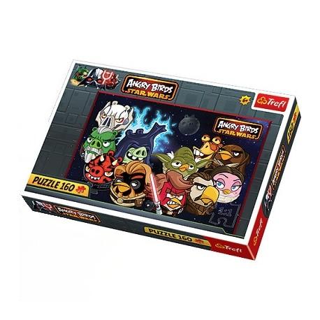 Trefl - 15310 - Puzzle 160 - Angry Birds - Jedi
