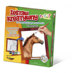 MIRAGE HOBBY Zestaw Kreatywny Malowanie 3D Koń TRAKEŃSKI 63005