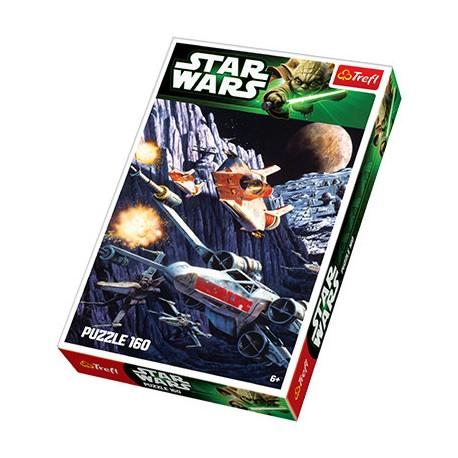 Trefl - 15253 - Puzzle 160 - Star Wars - Pościg