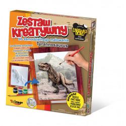 MIRAGE HOBBY Zestaw Kreatywny Malowanie 3D TYRANOZAUR 66001