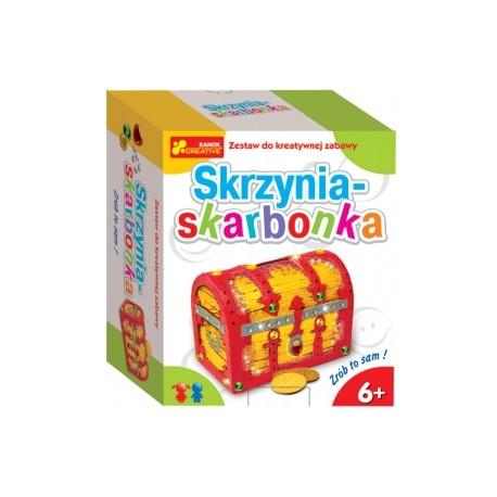 Ranok Creative - 0735 - Skrzynia - Skarbonka