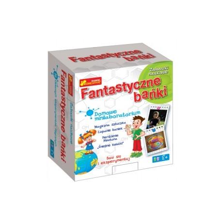 Ranok Creative - 0988 - Zabawki Naukowe - Domowe Minilaboratorium - Fantastyczne Bańki