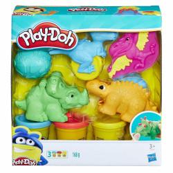 PLAY-DOH Zestaw z Małymi Dinozaurami E1953