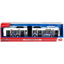 DICKIE TOYS Autobus Przegubowy Biały 8001