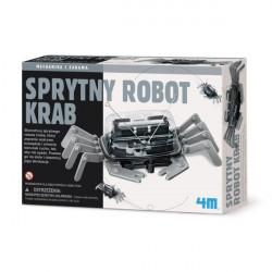 4M Mechanika i Zabawa SPRYTNY ROBOT KRAB 33574