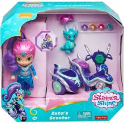 FISHER-PRICE Shimmer&Shine Lalka ZETA I SKUTER FHN31