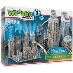 WREBBIT Puzzle 3D Nowy Jork Midtown East 875elementów 02011