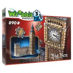 WREBBIT Puzzle 3D BIG BEN 890elementów 02002