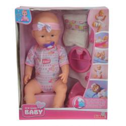 SIMBA Lalka New Born Baby 43cm 9005