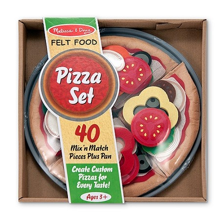 Melissa & Doug - 13974 - Filcowa Pizza